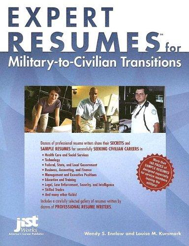 Download Expert resumes for military-to-civilian transitions