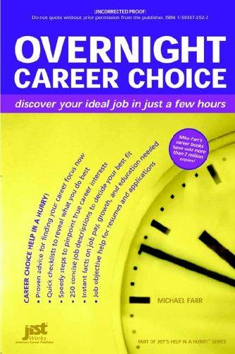 Download Overnight career choice