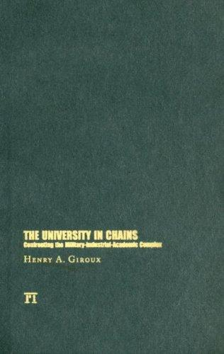 Download The University in Chains