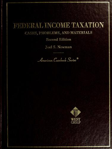 Download Federal income taxation