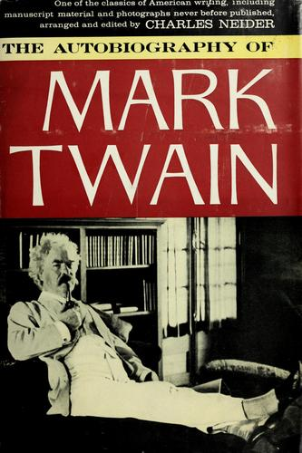 Download The autobiography of Mark Twain pseud.