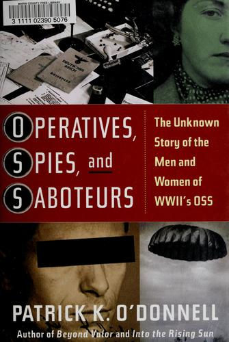Download Operatives, spies, and saboteurs