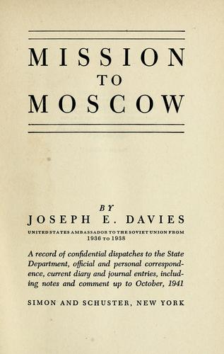 Download Mission to Moscow