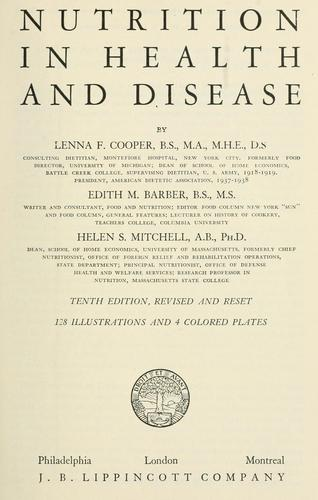 Nutrition in health and disease