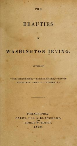The beauties of Washington Irving …