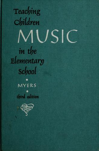 Download Teaching children music in the elementary school.