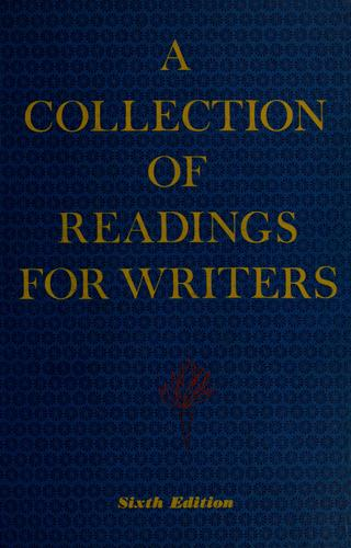 A collection of readings for writers
