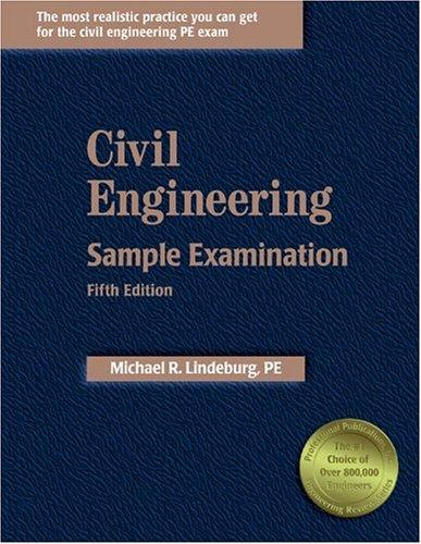 Download Civil Engineering Sample Examination