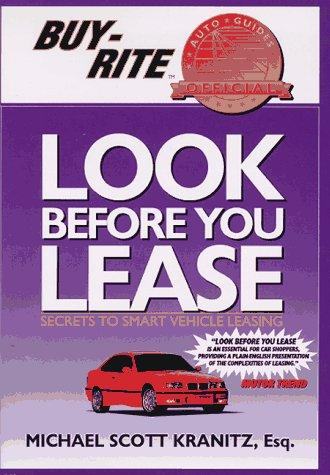Download Look Before You Lease