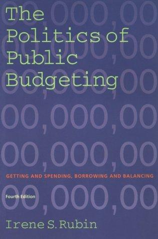 Download The Politics of Public Budgeting