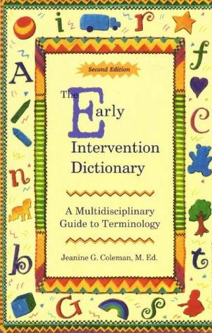 Download The Early Intervention Dictionary