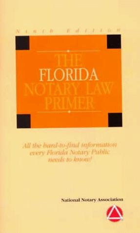 Download The Florida Notary Law Primer