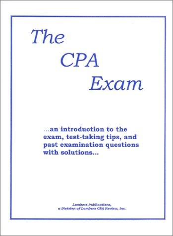 The CPA Exam