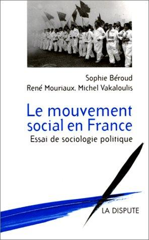 Download Le mouvement social en France