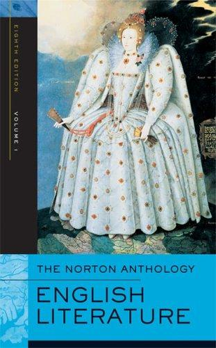 The Norton Anthology of English Literature, Eighth Edition, Volume 1 by Stephen Greenblatt