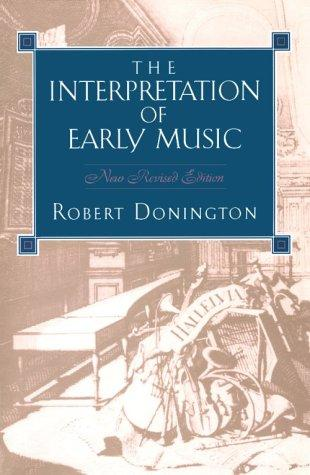 Download The interpretation of early music
