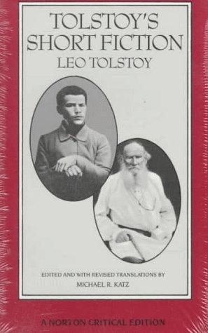 Download Tolstoy's short fiction