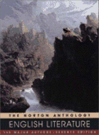 Norton Anthology of English Literature by M.H. Abrams