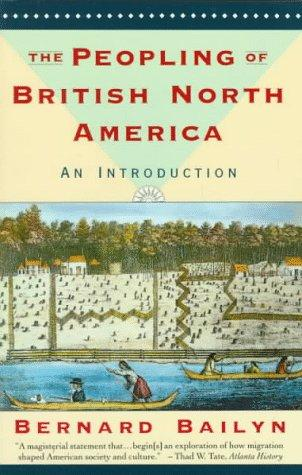 Download The peopling of British North America