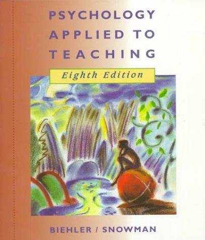Download Psychology applied to teaching