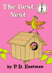 Book Cover: 'The Best Nest' by P.D. Eastman