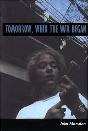 Book Cover: 'Tomorrow When the War Began' by Marsden, John