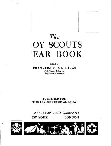 The Boy Scouts' Year Book