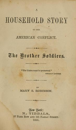 Download A household story of the American conflict
