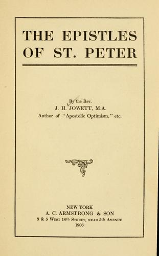 Download The Epistles of St. Peter