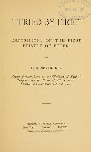 Tried by fire by Meyer, F. B.