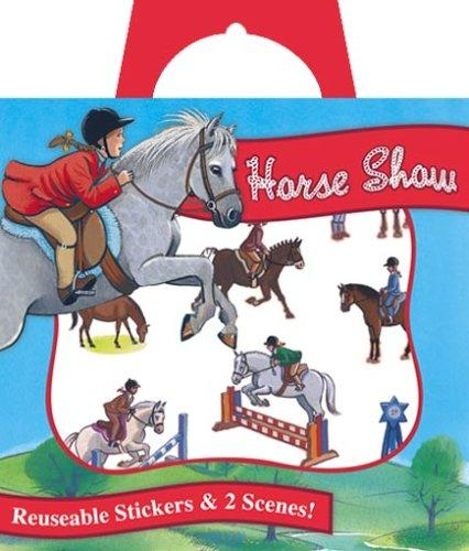 SP1 - Horse Show Sticker Tote by Ashley Wolff