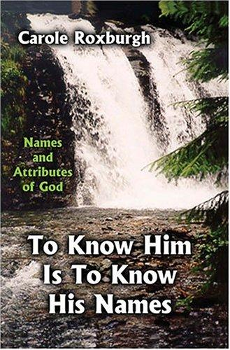 To Know Him Is to Know His Names