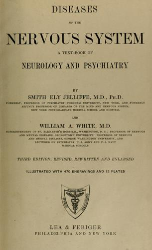 Diseases of the nervous system by Jelliffe, Smith Ely