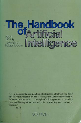 The Handbook of artificial intelligence, volume 2 by Avron Barr
