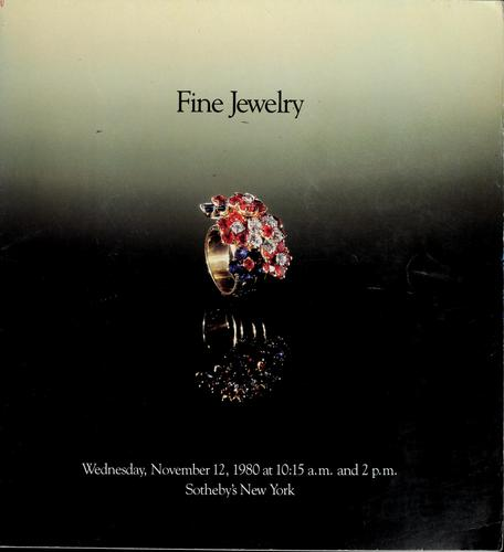 Fine jewelry by Sotheby & Co. (London, England)