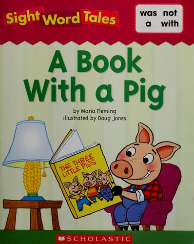 A book with a pig by Maria Fleming