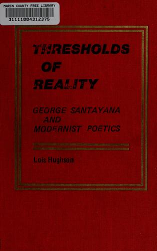 Thresholds of reality by Lois Hughson