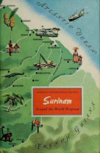 Surinam by Ivan Terence Sanderson