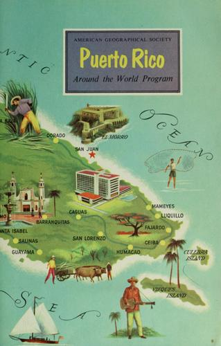 The Commonwealth of Puerto Rico by Earl Parker Hanson