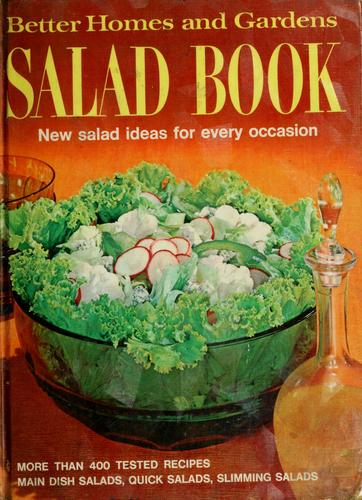 Salad book by Better Homes and Gardens
