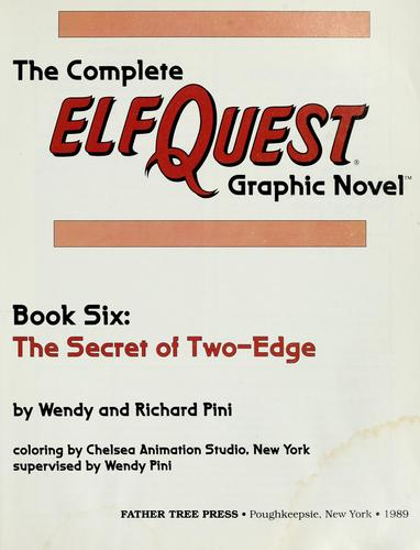 The complete ElfQuest graphic novel by Wendy Pini