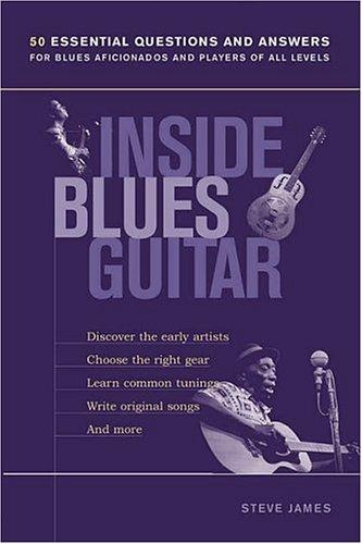 Inside blues guitar by Steve James
