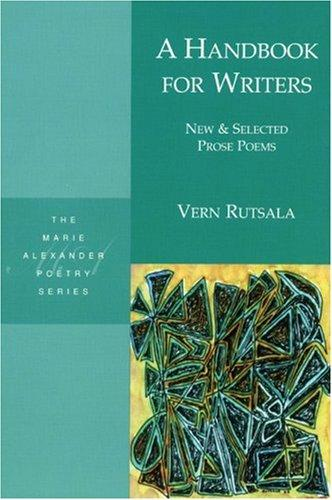 A handbook for writers by Vern Rutsala