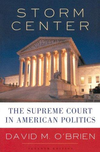 Image 0 of Storm Center: The Supreme Court in American Politics, Seventh Edition