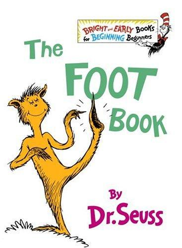 The Foot Book (Bright & Early Books(R)) by Dr. Seuss