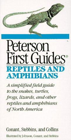 Peterson first guide to reptiles and amphibians by Conant, Roger
