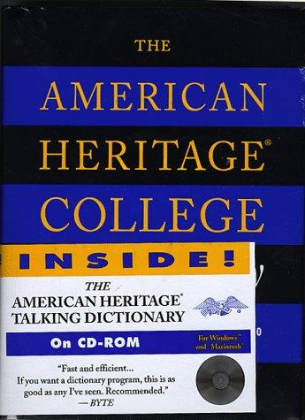 The American Heritage College Dictionary (Book and CD Edition) by Editors of The American Heritage Dictionaries