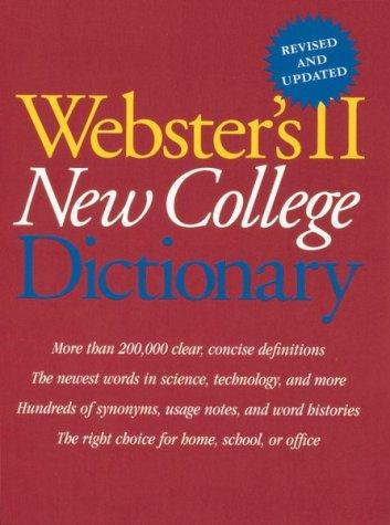 Webster's II new college dictionary. by