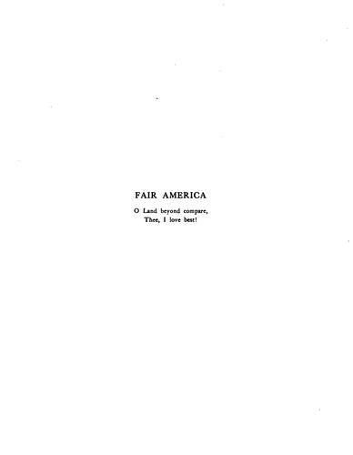 Fair America by Katharine Roney Crowell