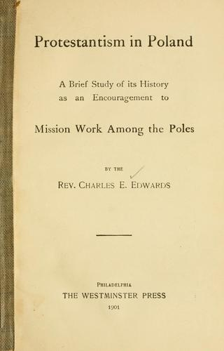Protestantism in Poland by Charles Eugene Edwards